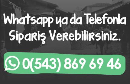 whatsapp ile sipariş antakya yöresel ürün siparişi